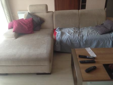 kanapé tisztítás előtt