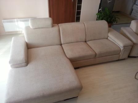 kanapé tisztítás után
